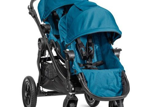 Baby Jogger 2017 Baby Jogger City Select With Second Seat In Teal With Black Frame