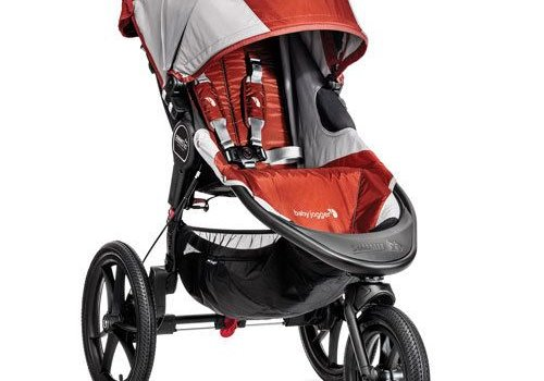 Baby Jogger Baby Jogger Summit X3 Single Stroller In Orange- Gray