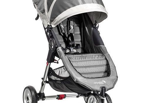 Baby Jogger 2017 Baby Jogger City Mini 3 Wheel Single In Steel-Gray