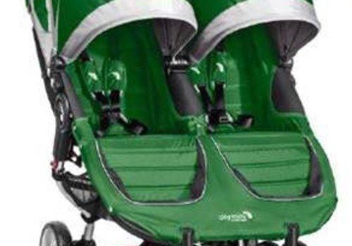 Baby Jogger 2017 Baby Jogger City Mini Double In Evergreen-Gray
