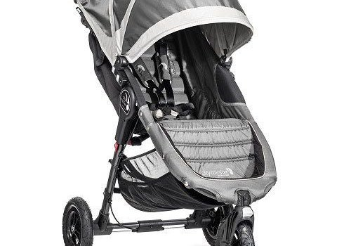 Baby Jogger 2017 Baby Jogger City Mini GT Single In Steel Gray