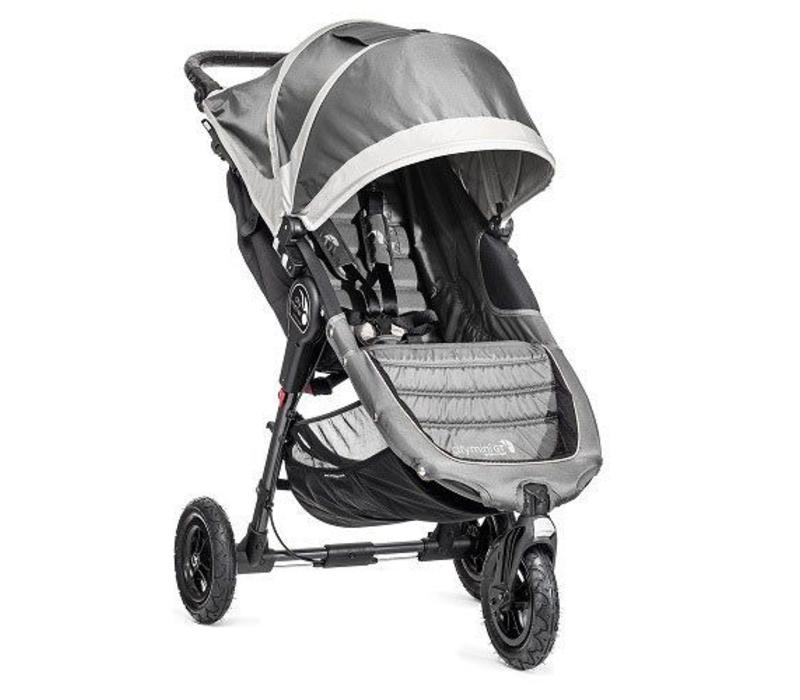 2017 Baby Jogger City Mini GT Single In Steel Gray