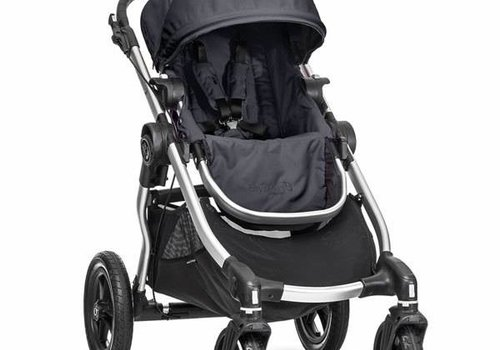 Baby Jogger 2017 Baby Jogger City Select Single In Titanium With Silver Frame