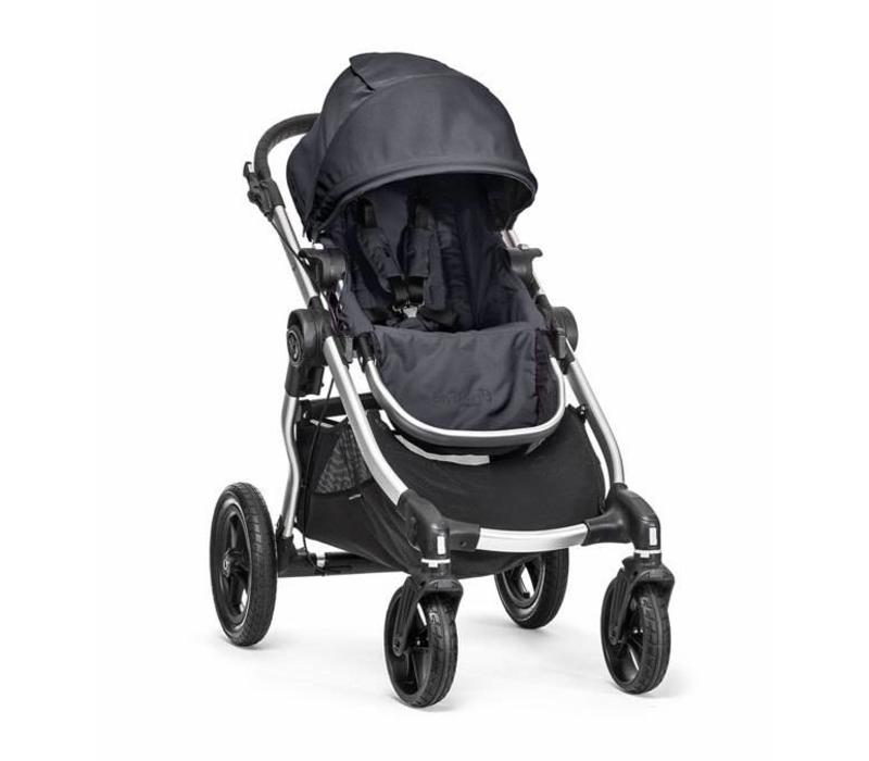 2017 Baby Jogger City Select Single In Titanium With Silver Frame