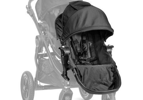 Baby Jogger 2017 Baby Jogger City Select Second Seat Kit In Black- Black Frame