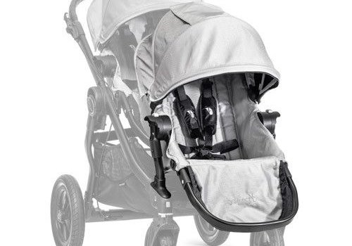 Baby Jogger 2017 Baby Jogger City Select Second Seat Kit In Silver- Black Frame