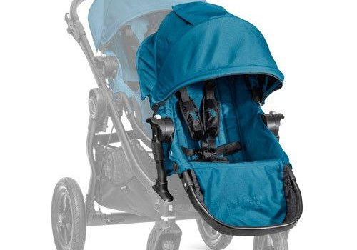 Baby Jogger 2017 Baby Jogger City Select Second Seat Kit In Teal - Black Frame