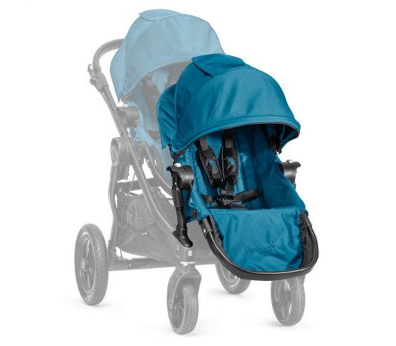 2017 Baby Jogger City Select Second Seat Kit In Teal - Black Frame