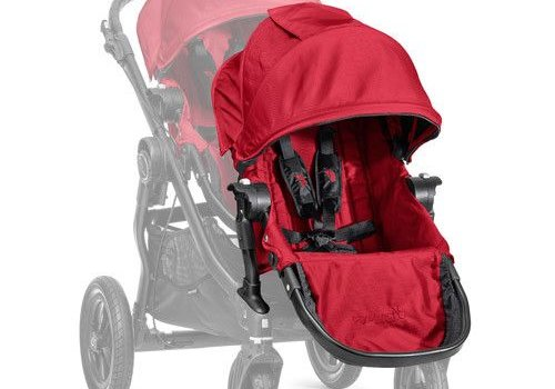 Baby Jogger 2017 Baby Jogger City Select Second Seat Kit In Red- Black Frame