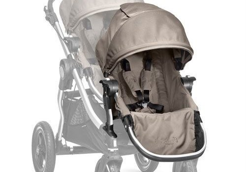 Baby Jogger 2017 Baby Jogger City Select Second Seat Kit In Quartz - Silver Frame
