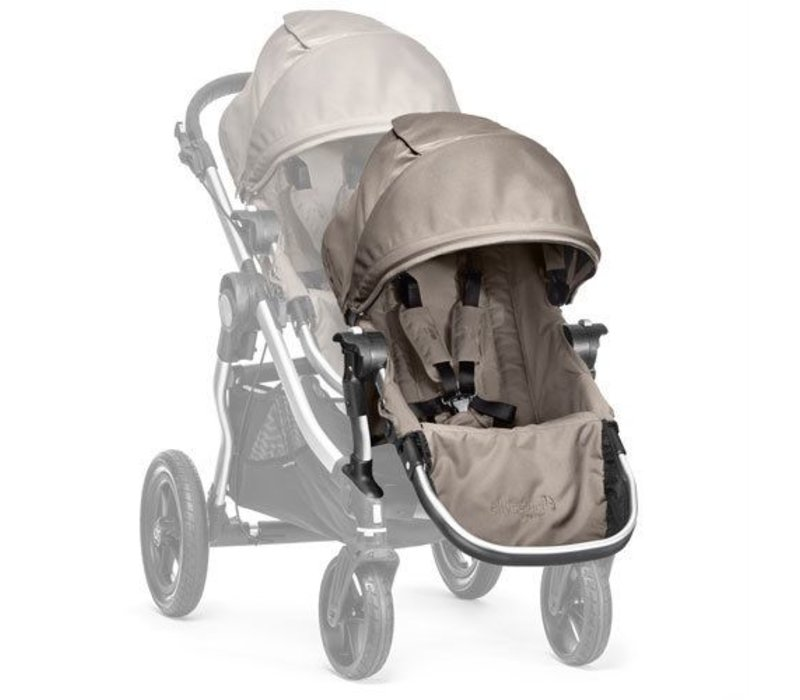 2017 Baby Jogger City Select Second Seat Kit In Quartz - Silver Frame