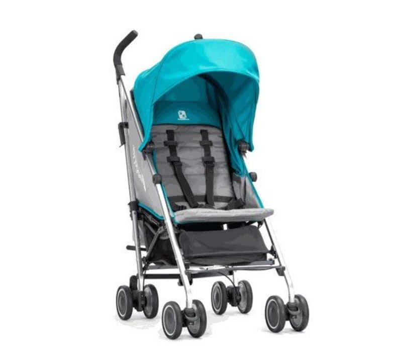 2017 Baby Jogger Vue Lite Stroller In Aqua
