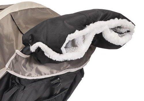 Baby Jogger Baby Jogger Plush Stroller Handmuff In Black