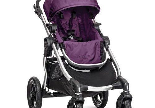 Baby Jogger 2017 Baby Jogger City Select Single In Amethyst With Silver Frame