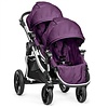 Baby Jogger 2017 Baby Jogger City Select With Second Seat In Amethyst With Silver Frame