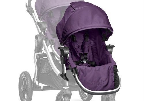Baby Jogger 2017 Baby Jogger City Select Second Seat Kit In Amethyst - Silver Frame