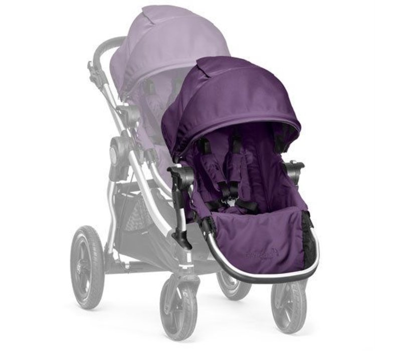2017 Baby Jogger City Select Second Seat Kit In Amethyst - Silver Frame
