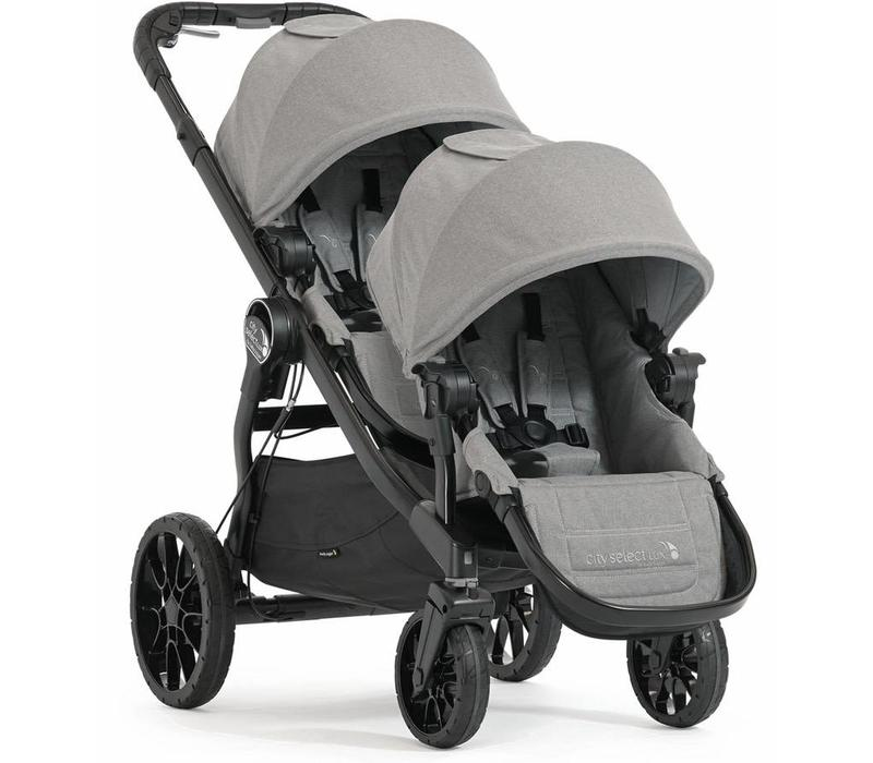 Baby Jogger City Select Lux Stroller With Second Seat In Slate