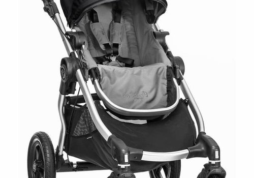 Baby Jogger 2017 Baby Jogger City Select Single In Gray With Silver Frame