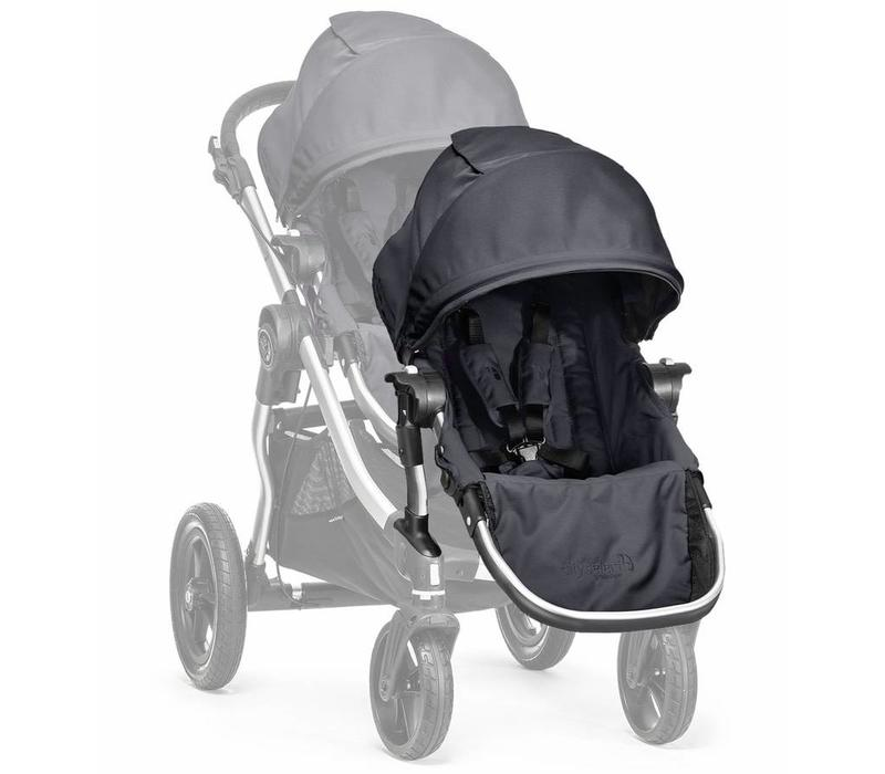 2017 Baby Jogger City Select Second Seat Kit In Titanium - Silver Frame