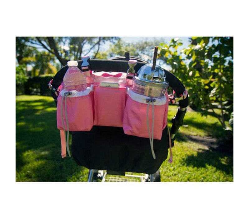 Buggy Gear Buggy Butler Sport Organizer and Cooler In Niki Pink