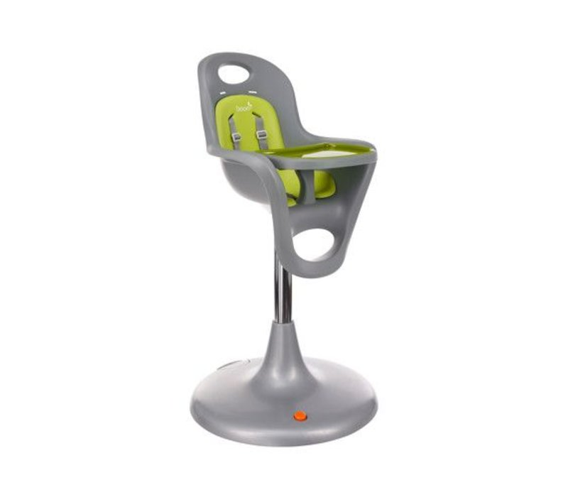 Boon Flair Standard  Pedestal High Chair with Pneumatic Lift In Green