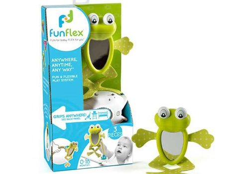 Funflex Fun Flex Frog Mirror Set