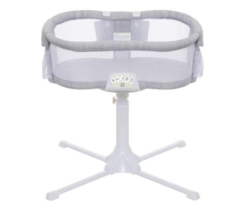 HALO Bassinest Swivel Sleeper Bassinet - Premiere Series, Grey Melange