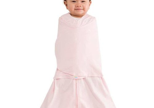 Halo HALO Sleepsack Swaddle 100% Cotton Soft Pink In Newborn