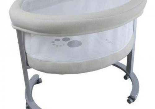 Micuna Micuna Smart Fresh Bassinet In Metal-Beige