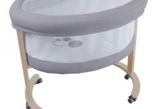 Micuna Micuna Smart Fresh Bassinet In Natural-Grey