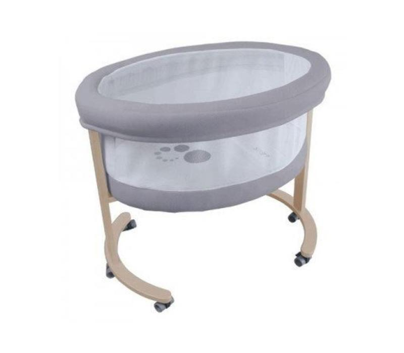 Micuna Smart Fresh Bassinet In Natural-Grey