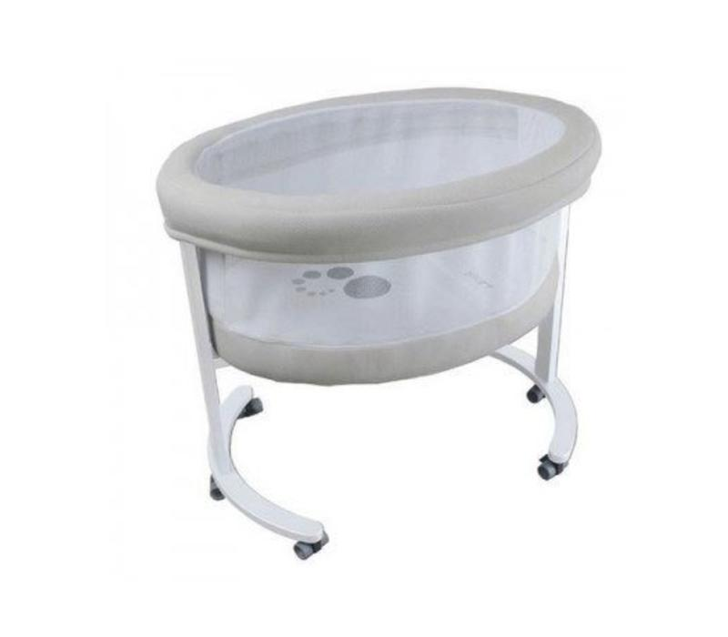 Micuna Smart Fresh Bassinet In White-Beige