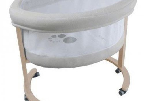 Micuna Micuna Smart Fresh Bassinet In Natural-Beige