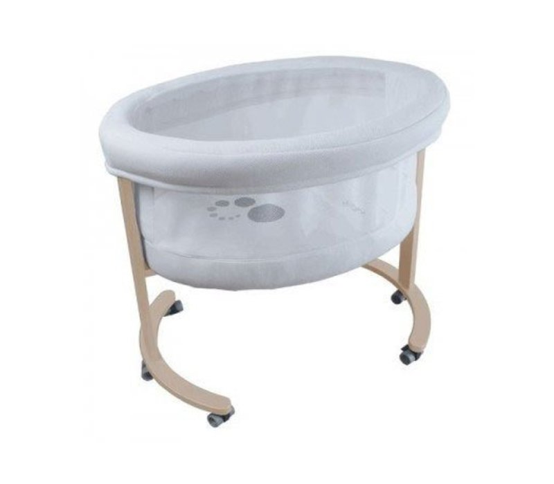 Micuna Smart Fresh Bassinet In Natural-White