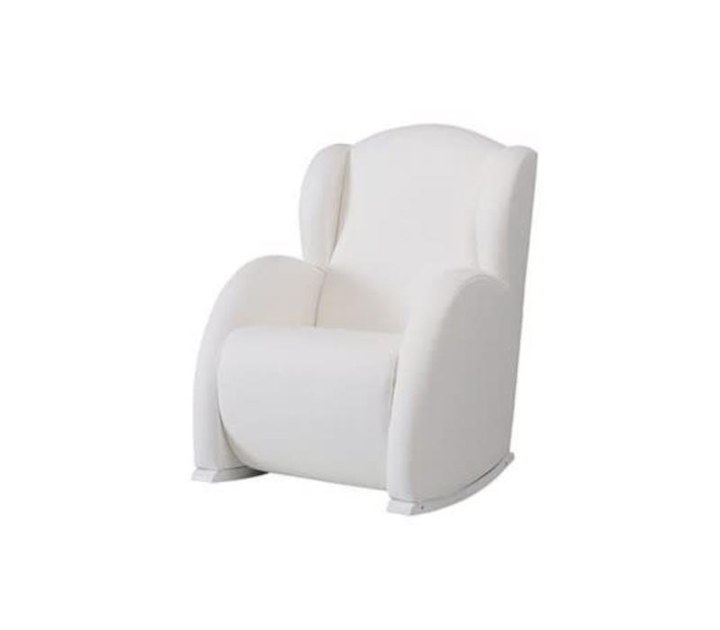Micuna Flor Rocker Vegan Leather White