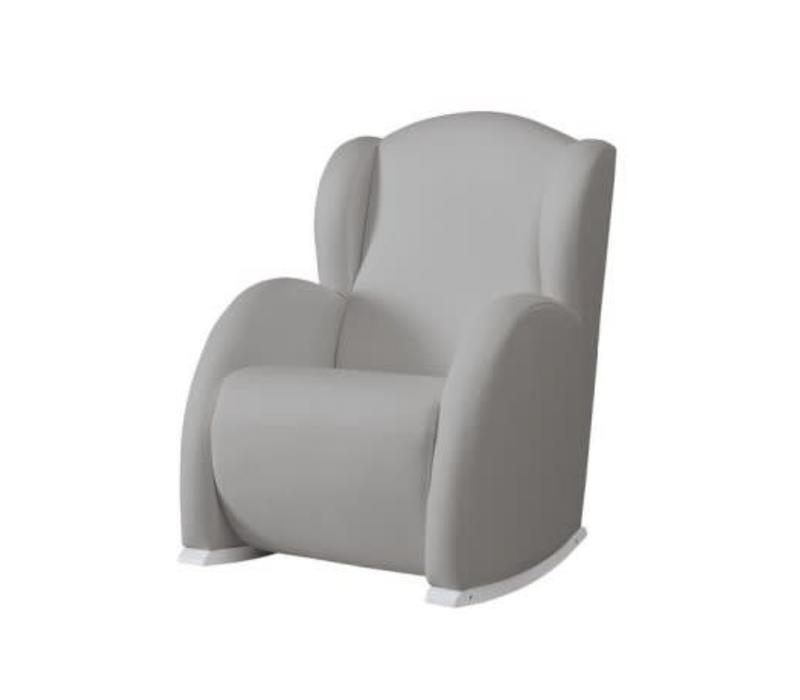 Micuna Flor Rocker White-Grey Fabric
