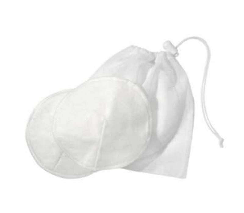 Medela 100% Cotton Washable Bra Pads with Laundry Bag
