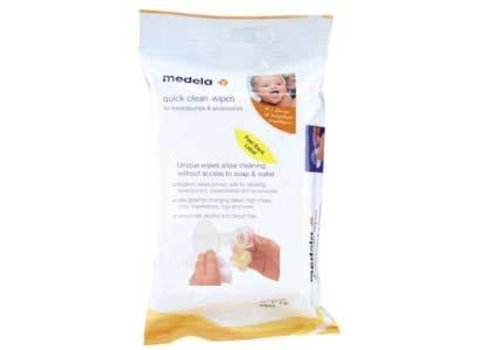 Medela Medela Quick Clean Breast Pump And Accessory Wipes - (Multi-Pack)