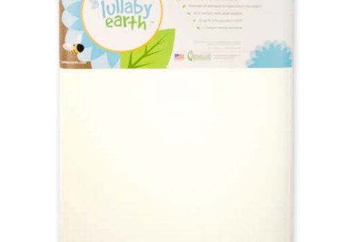 Lullaby Earth Lullaby Earth Super Lightweight Crib Mattress 2 Stage