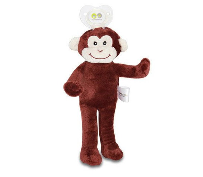 Nookums Milo Monkey Lovies Pacifier Holder