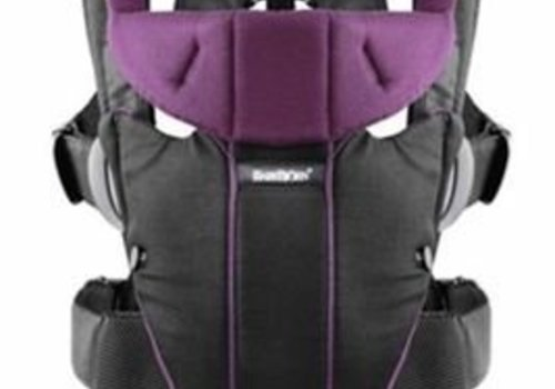 Baby Bjorn BABYBJORN Baby Carrier Miracle In Black - Purple