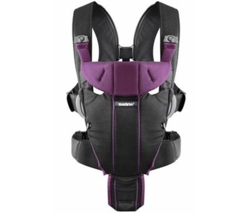 BABYBJORN Baby Carrier Miracle In Black - Purple