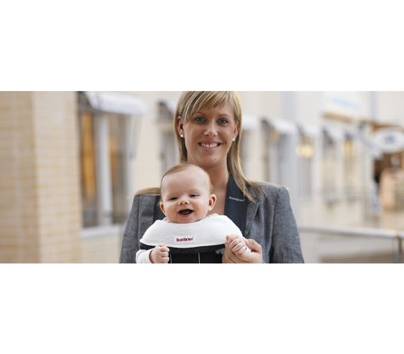 BABYBJORN Bib For Baby Carrier 2 Pack- White