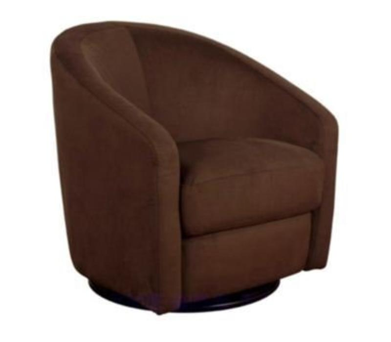 Baby Letto Madison Swivel Glider In Mocha