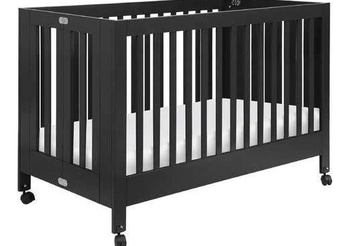 Baby Letto Baby Letto Maki Full Folding Crib In Black