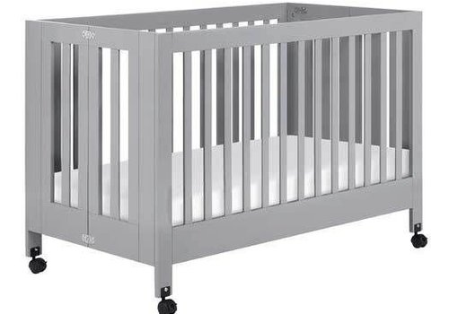 Baby Letto Baby Letto Maki Full Folding Crib In Gray