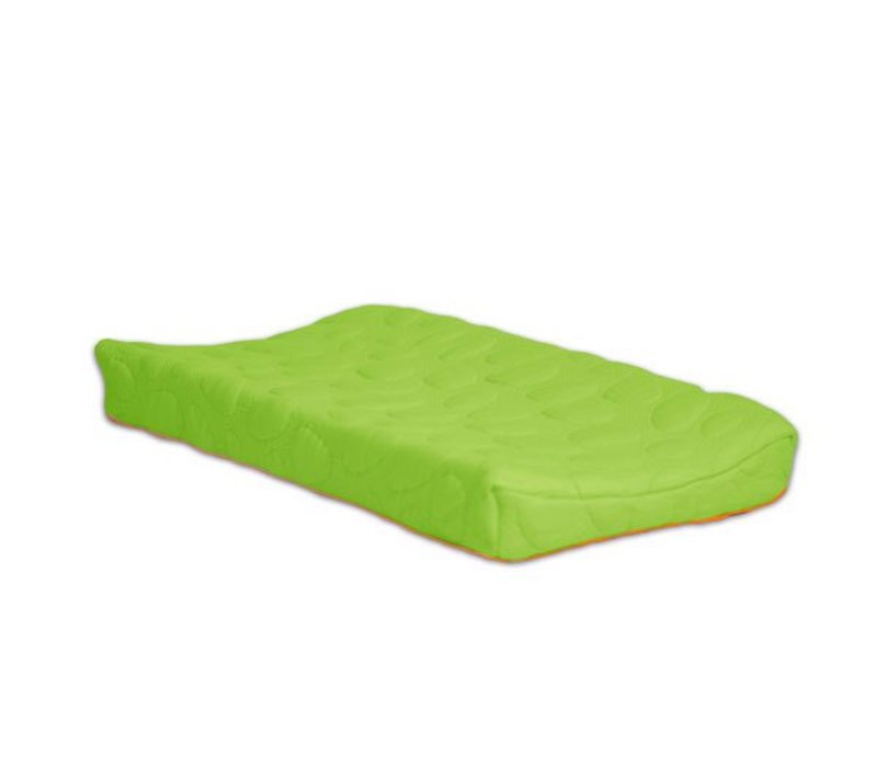 Nook Sleep Organic Pebble Changing Pad In Lawn