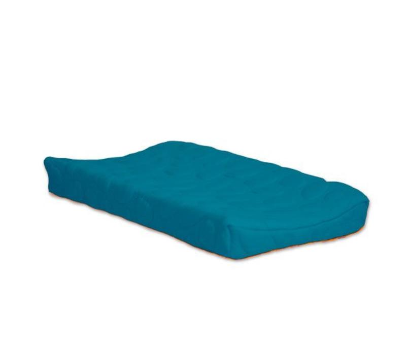Nook Sleep Organic Pebble Changing Pad In Peacock