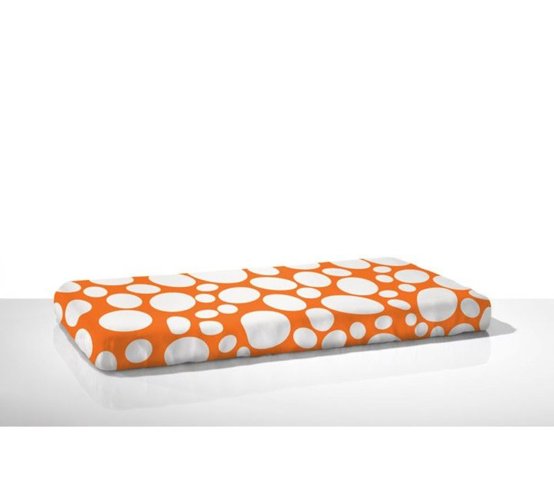 Nook Sleep Fitted Crib Sheet Riverbed In Poppy